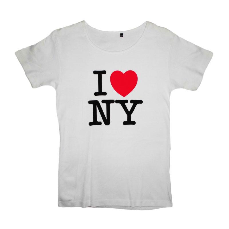 Tjej T-Shirt I Love N.Y.