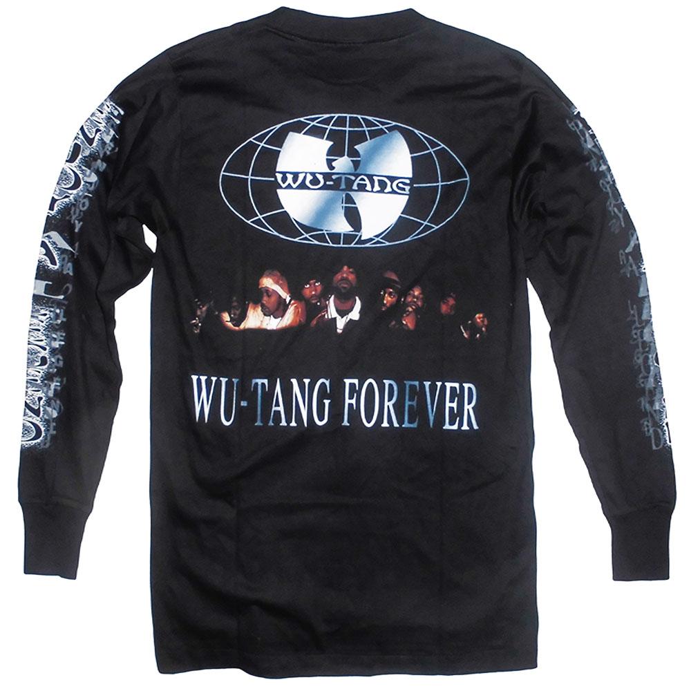 T-Shirt Långärmad Wu-Tang Bak