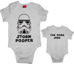 Baby Body Storm Pooper Fram o Bak