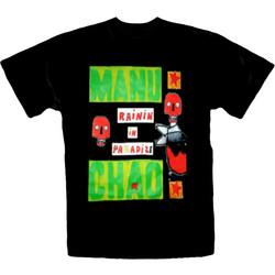 T-Shirt Manu Chao-Rainin In Paradize Fram