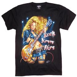 T-Shirt Rock Never Dies