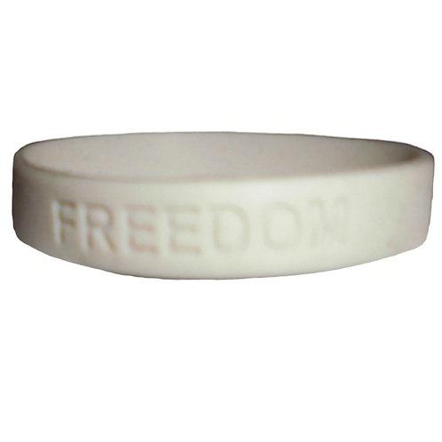 """Armband I Gummi """"Freedom"""""""