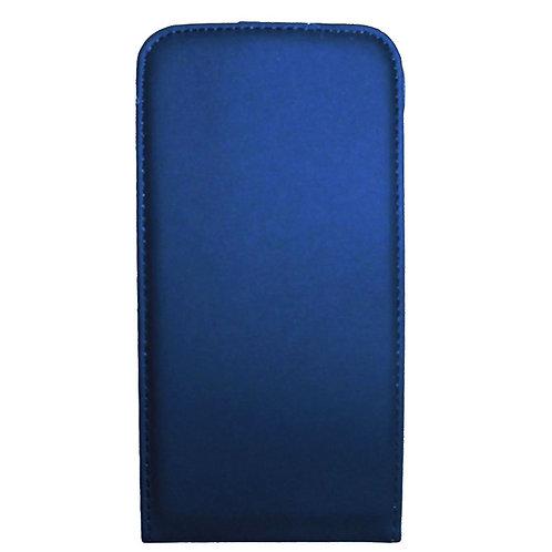Mobil Fodral/Plånbok Samsung S5 Flip Over Blå