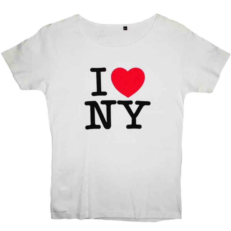 T-Shirt Dam I Love NY