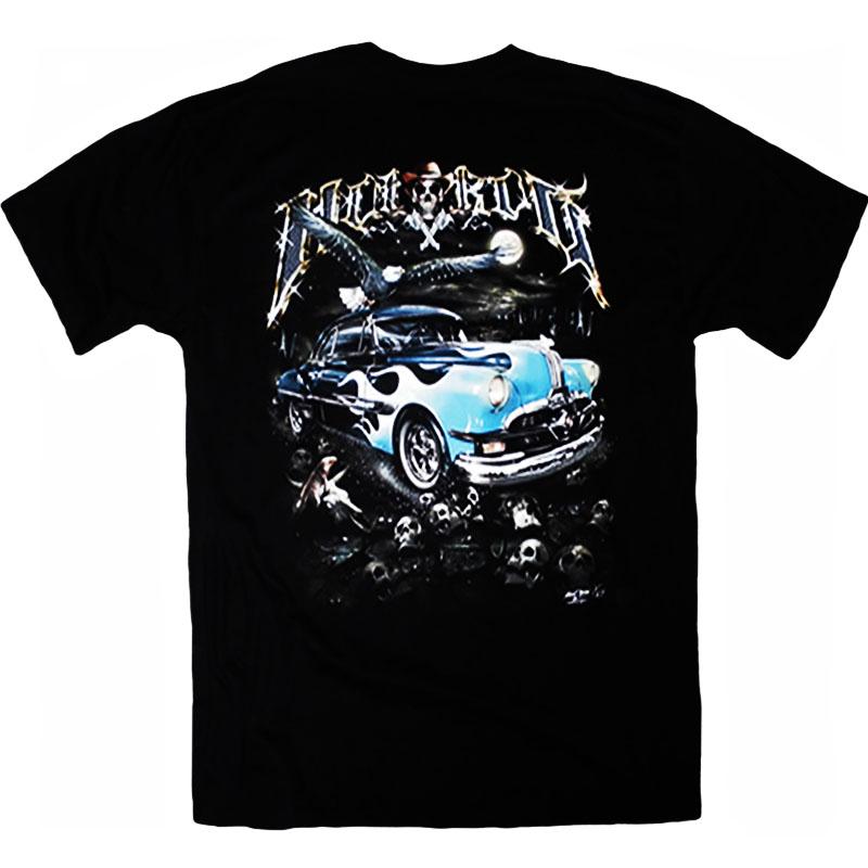 T-Shirt Hot Rod Car 1 Bak