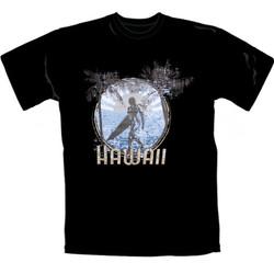 T-Shirt Hawaii Svart