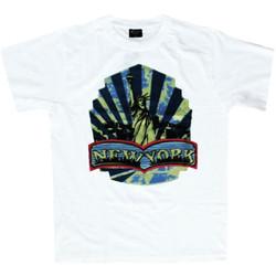 T-Shirt New York Vit