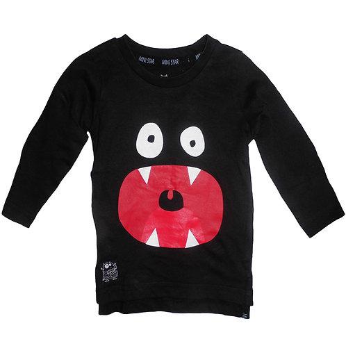 Långärmad T-Shirt Med Tryck