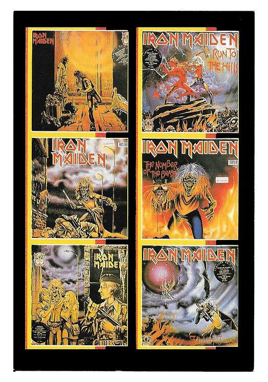 Vykort Iron Maiden 4