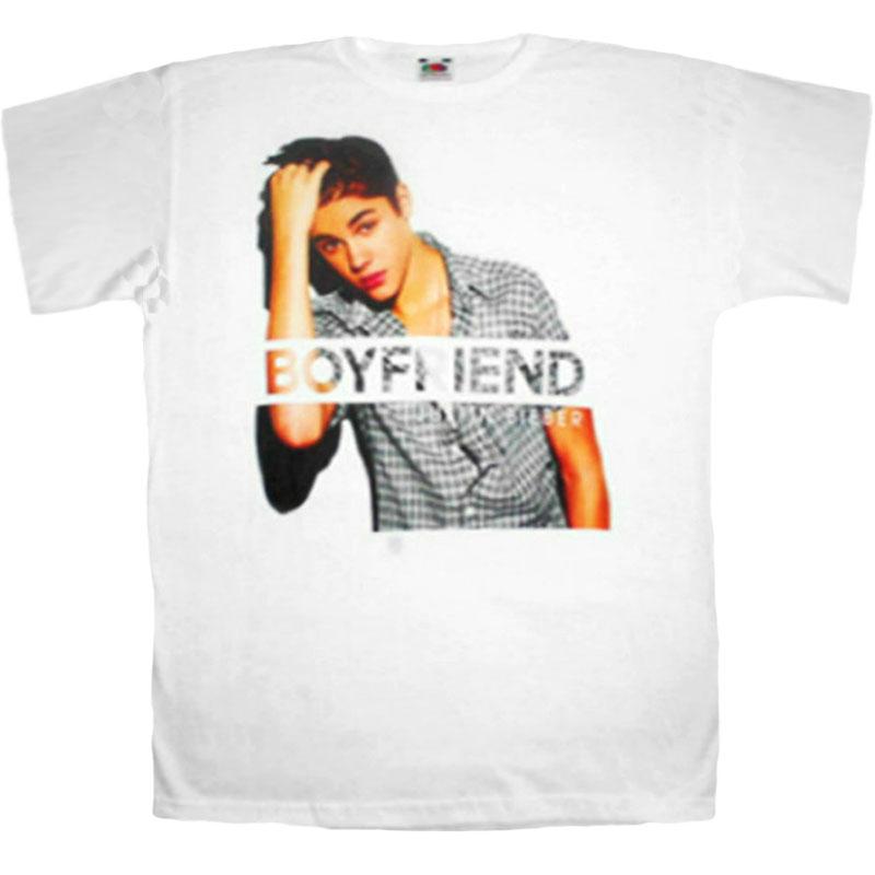 T-Shirt Justin Bieber Boyfriend