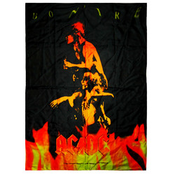 Posterflagga AC DC - Bonfire