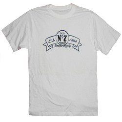 T-Shirt Jack Daniels Vit No.7