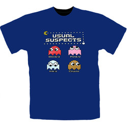 T-Shirt Pac-Man Usual Suspects