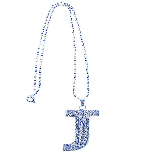 """Letter With Big Letter """"J"""" In Strass"""