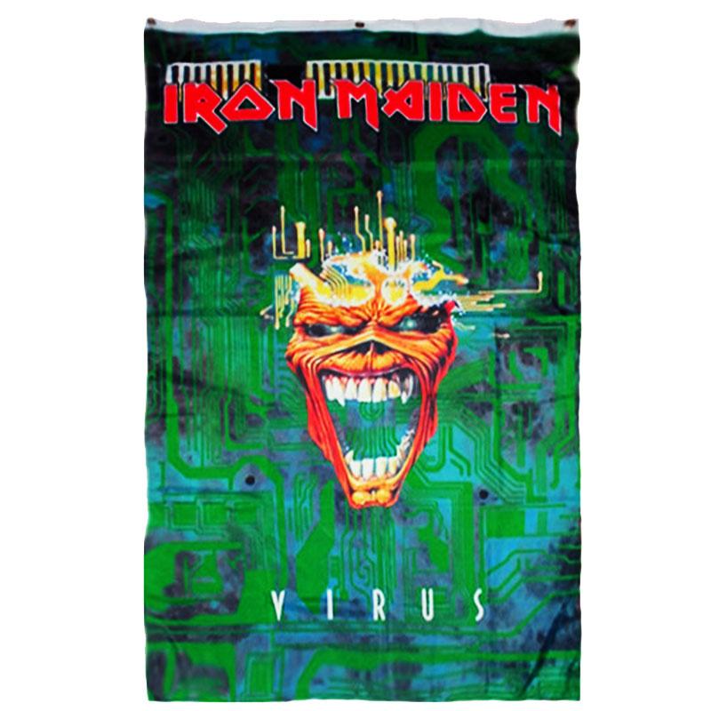 Posterflagga Iron Maiden - Virus