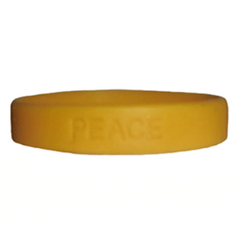 "Bracelet In Rubber ""Peace"""