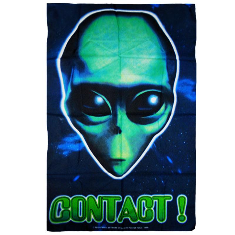 Posterflagga Alien Contact