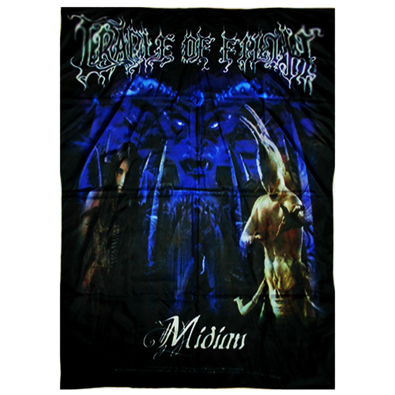 Posterflagga Cradle Of Filth - Midian