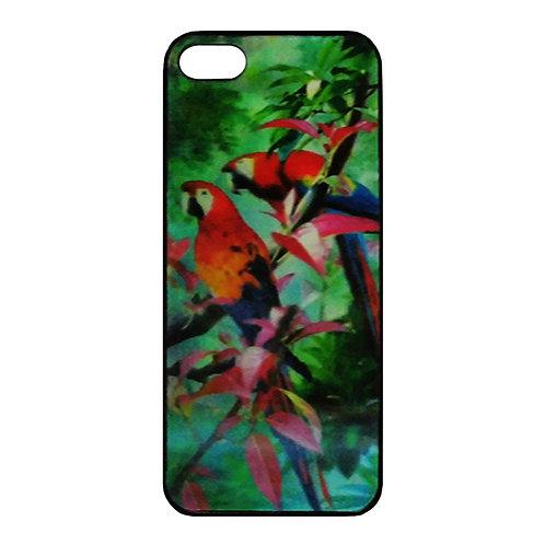 Iphone 5 3D Skal - Parrots