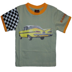 Barn T-Shirt Raggare 1