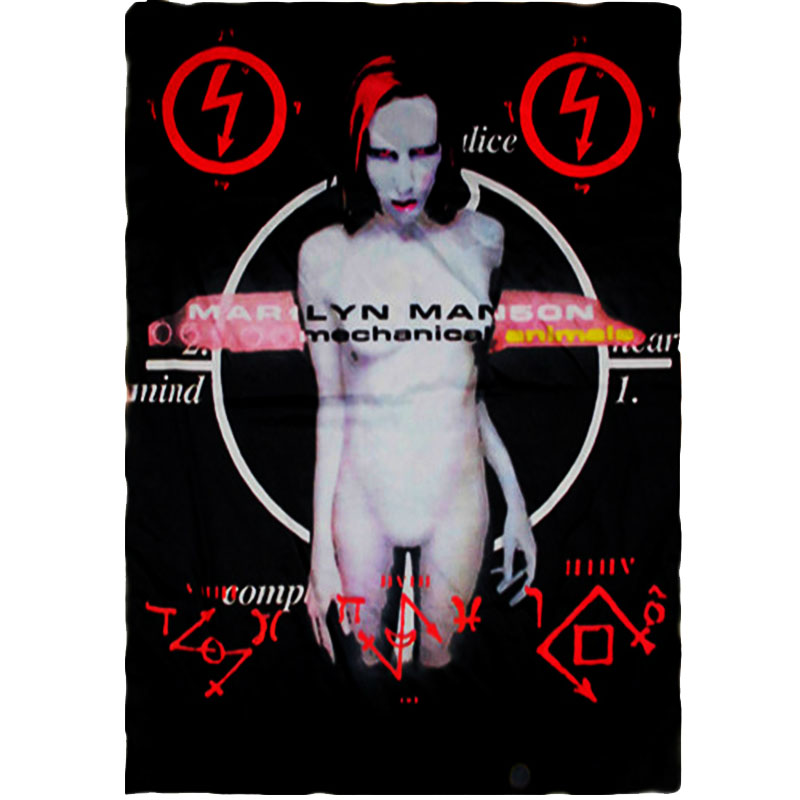 Posterflagga Marilyn Manson