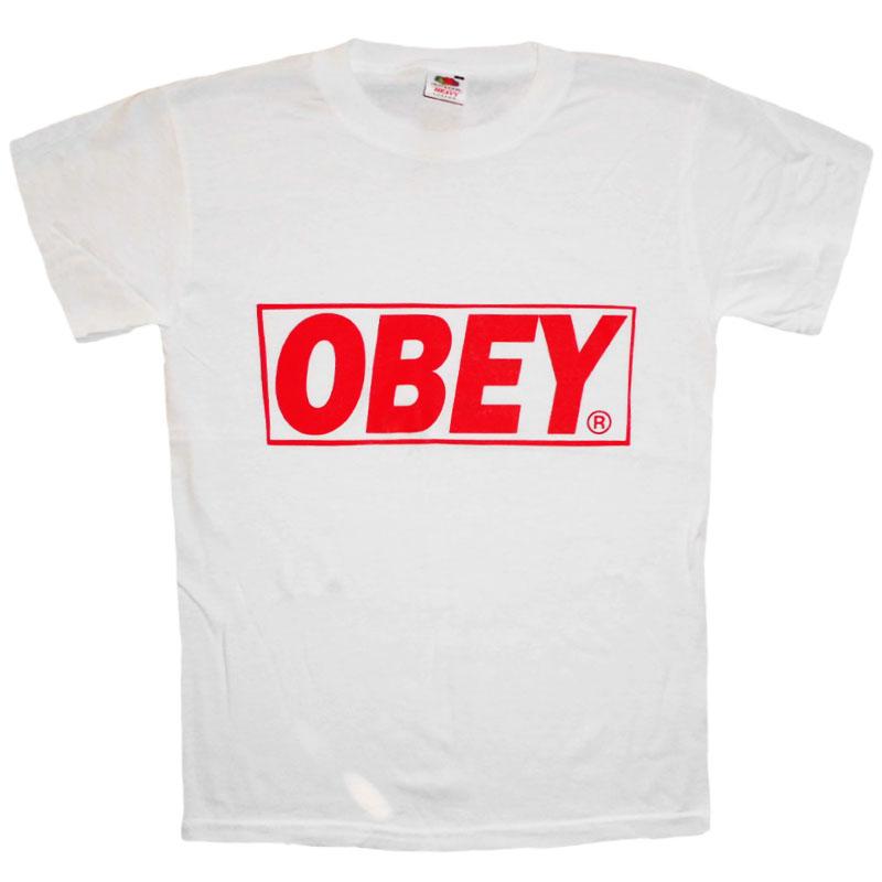 T-Shirt OBEY Vit