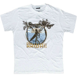 T-Shirt Hawaii Vit