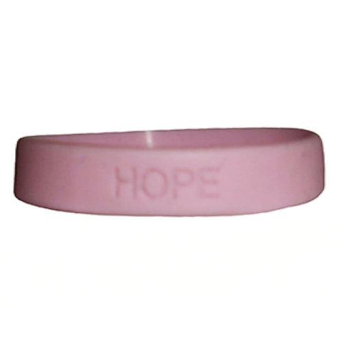 "Bracelet In Rubber ""Hope"""