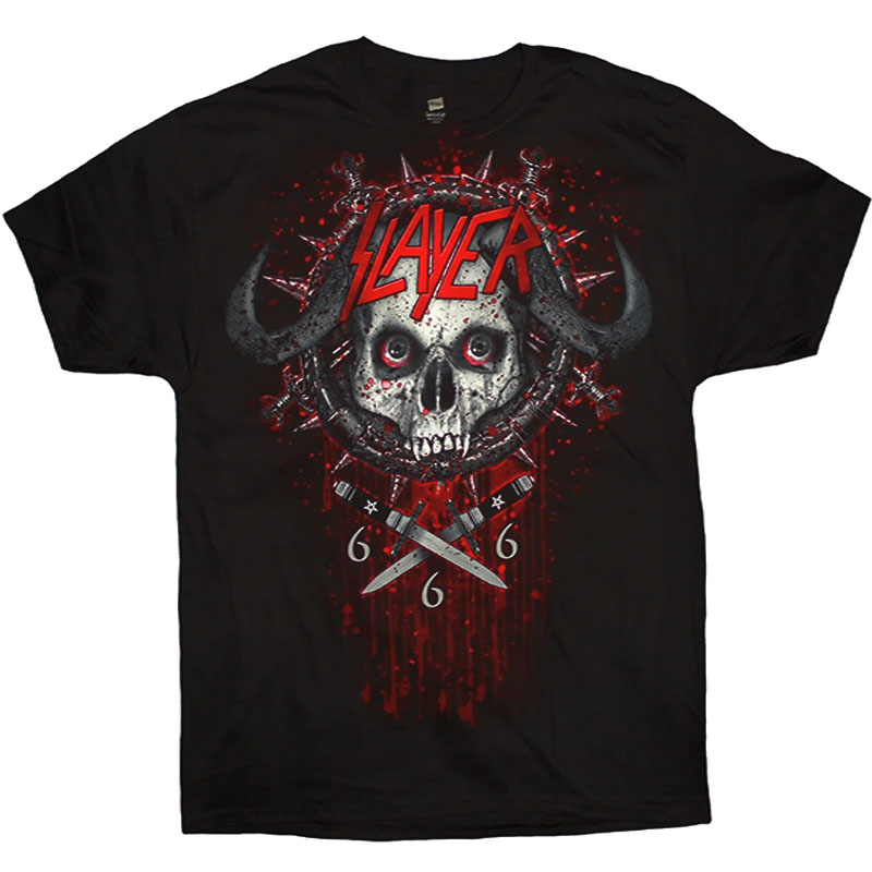 T-Shirt Slayer Demon Crest Fram