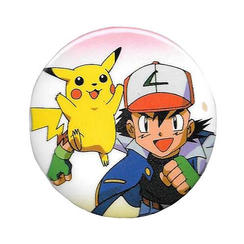 Badge - Pokémon - Pikachu & Ash