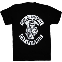 T-Shirt Sons Of Anarchy-California