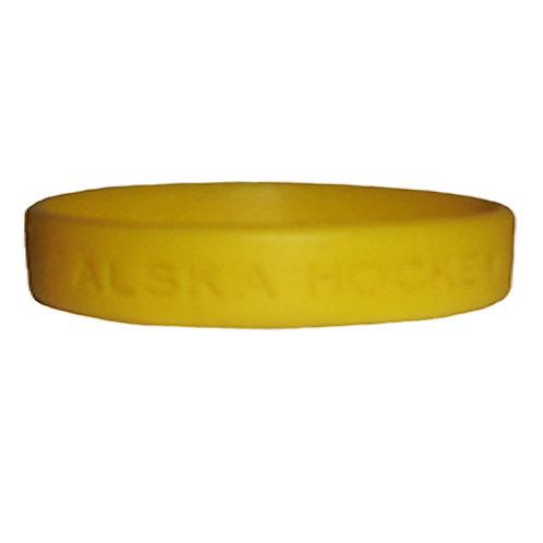 """Bracelet In Rubber """"Love Hockey"""""""