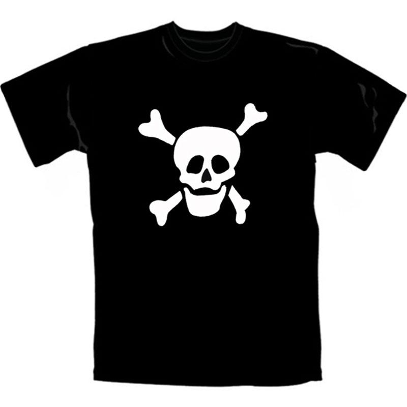 T-Shirt Smiling Skull