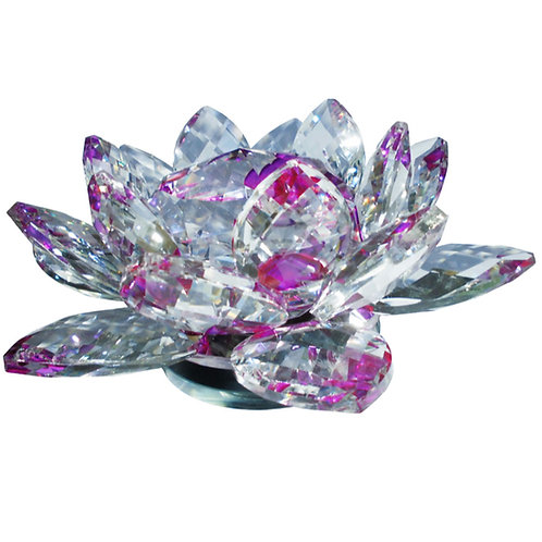Kristallblomma Lila 15 x 8