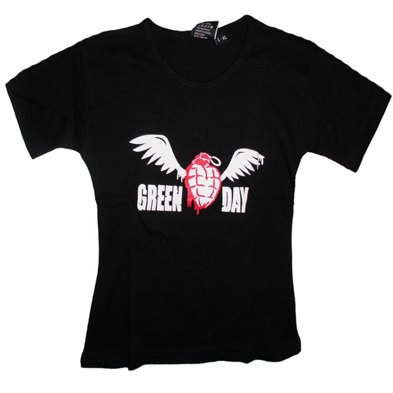 T-Shirt Dam Green Day