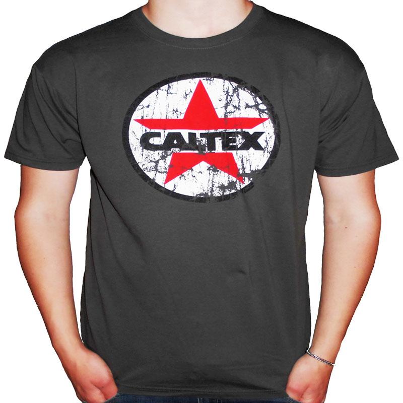 T-Shirt Caltex Mörkgrå