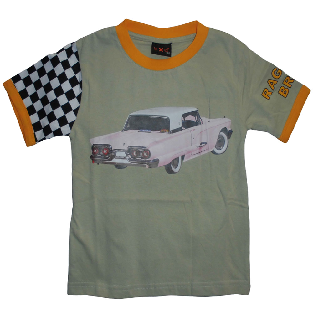 Barn T-Shirt Raggare 2