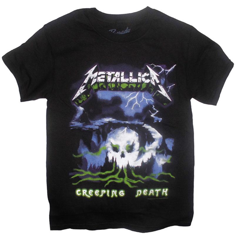 T-Shirt Metallica Creeping Death