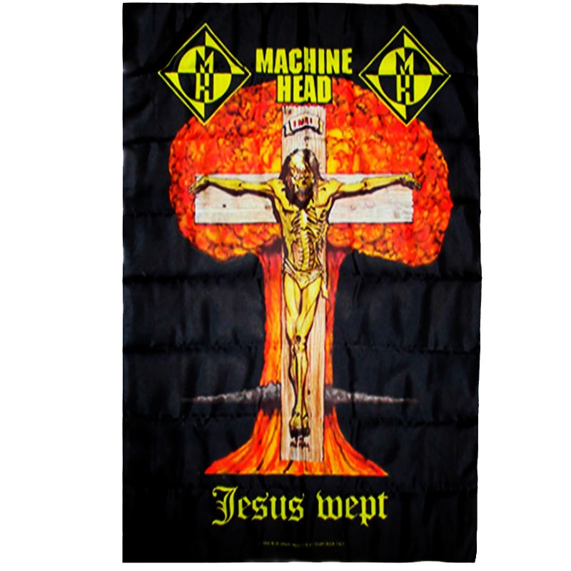 Posterflagga Machine Head