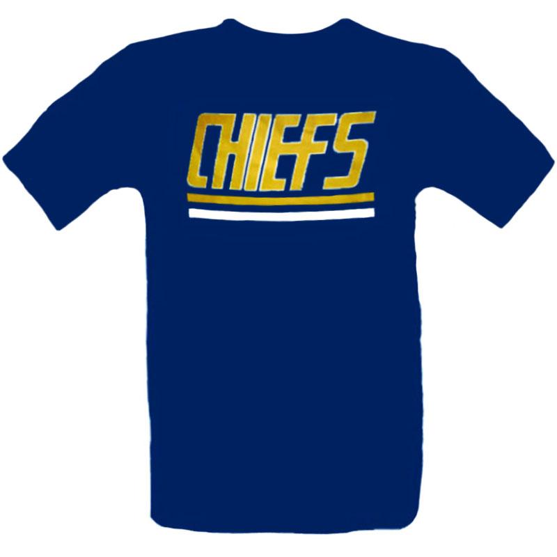 T-Shirt_Chiefs_Blå