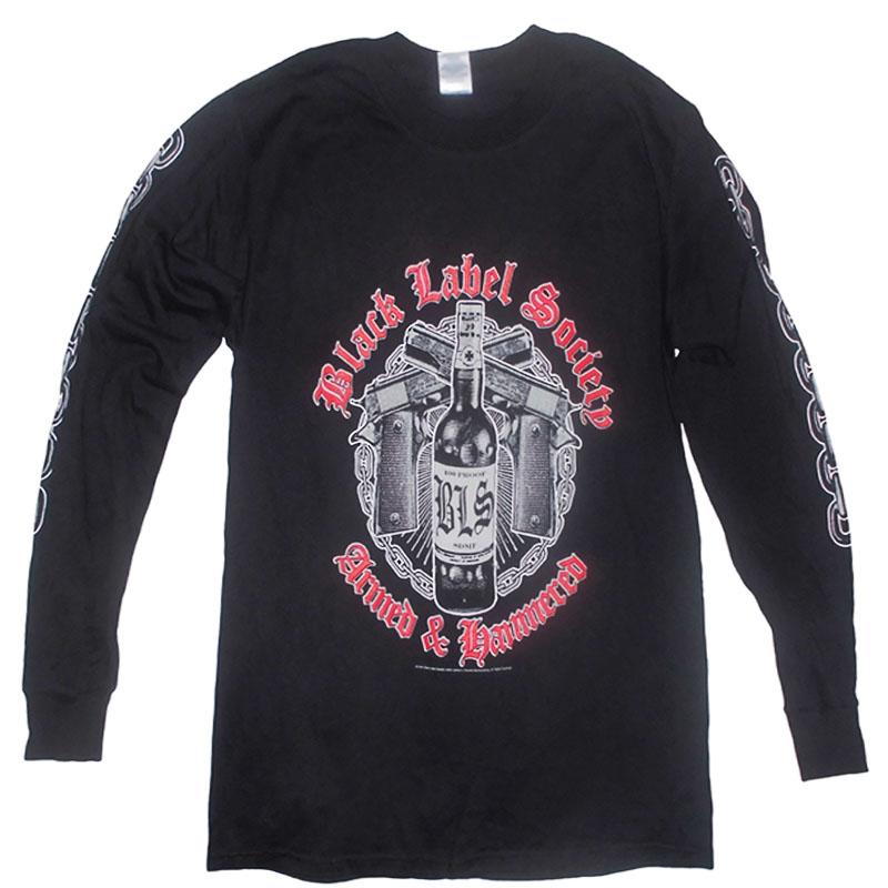 T-Shirt_Långärmad_Black_Label_Fram