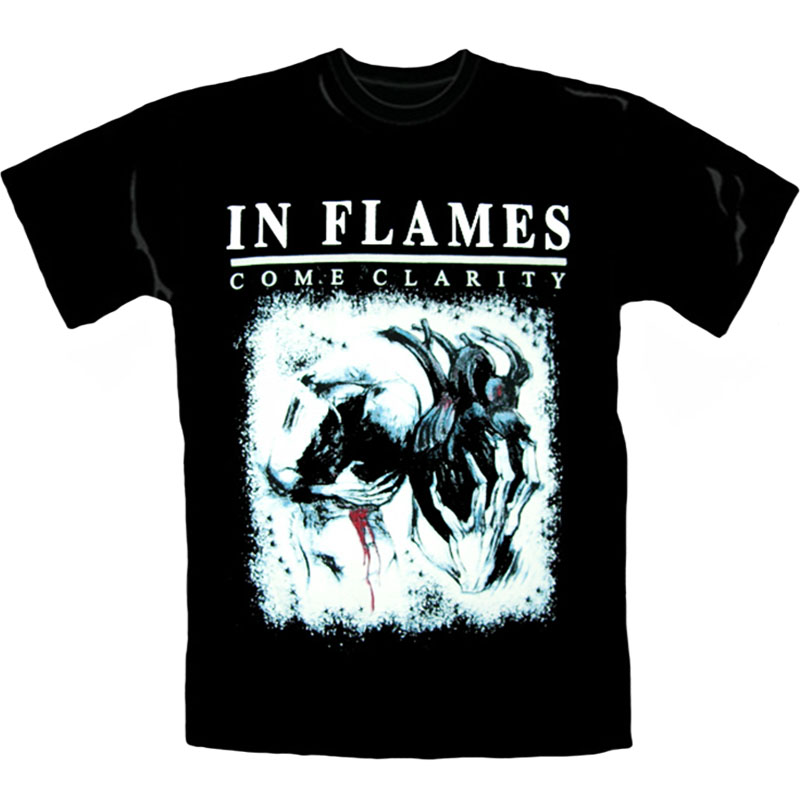 T-Shirt In Flames Come Clarity