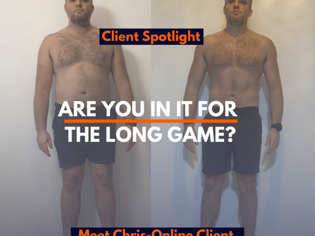 Client Journey - Why the long game always wins.......