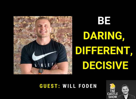 Be Daring, Be Different and Be Decisive and Take Action