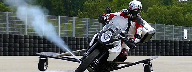 Sistema de caidas en moto