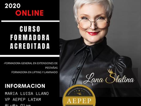 Curso Formadora Online Acreditada impartido por Lana Slatina