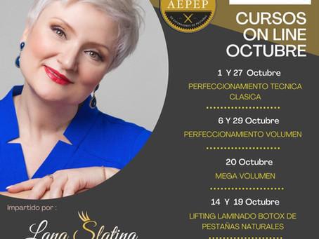 Cursos ONLINE de Actualización en Pestañas, Lifting, Laminado, Botox/ Cejas, Diseño Cejas y Henna