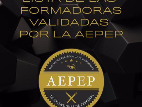 Cursos Avalados por la Asociación Española de Profesionales de Extensiones de Pestañas