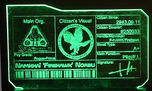 Carte d'Identité de Citoyen Petit Format