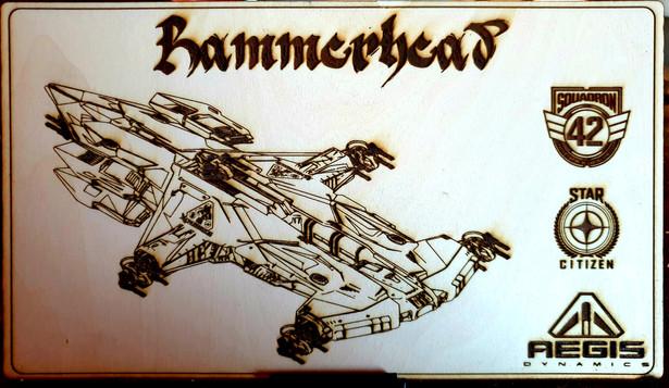 Aegis Hammerhead Etching